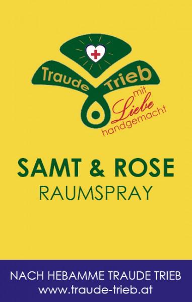 Samt & Rose-Raumspray (einhüllend, stresslindernd)