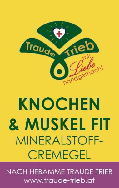Knochen& Muskel fit-Mineralstoffcremegel