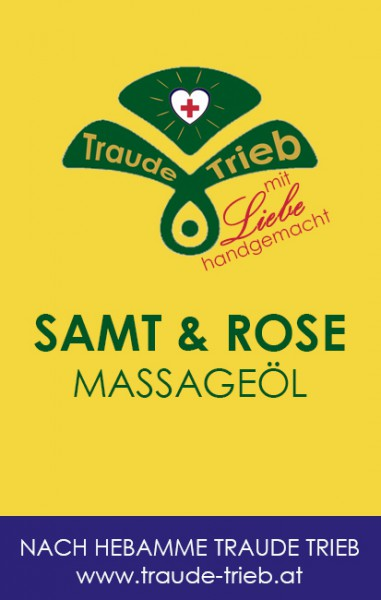 Samt & Rose-Massageöl