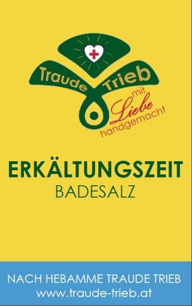 Erkältungszeit-Badesalz (vormals Atem ruh & wohl Badesalz)