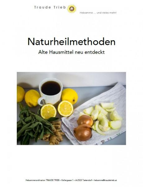 "Skriptum ""Naturheilmethoden - Alte Hausmittel neu entdeckt"""