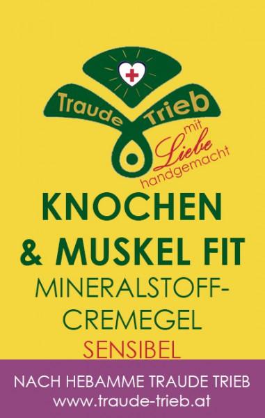 Knochen & Muskel fit-Mineralstoffcreme SENSIBEL