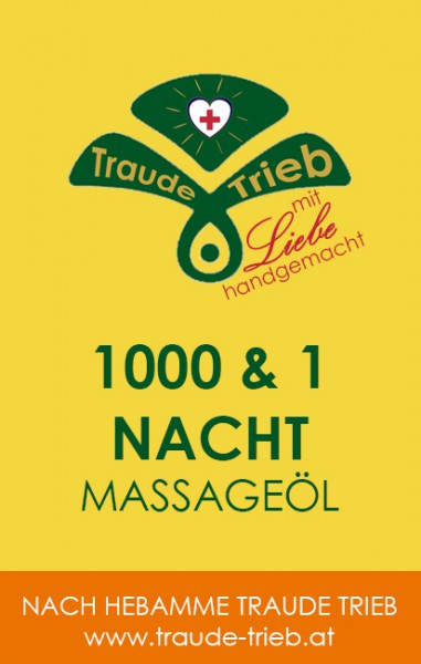 1000 & 1 Nacht-Massageöl