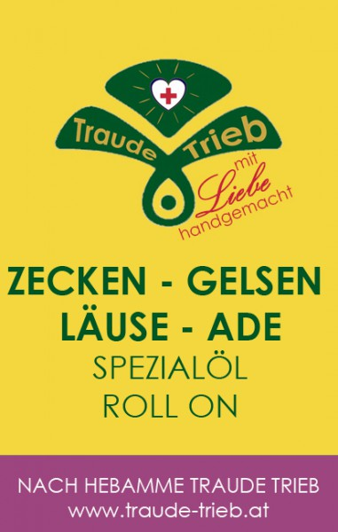 Zecken--Läuse-Gelsen-ade Spezialöl-Roll-on