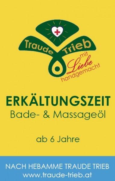 Erkältungszeit-Bade- & Massageöl (vormals Atem ruh & wohl-Spezialöl ab 6 J.)